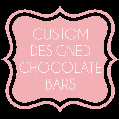 Custom Designed Chocolate Bars