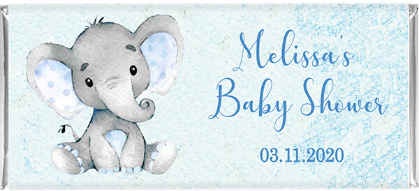 Baby Chocolate Favours - Baby Elephant