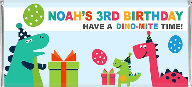 dinosaur party favours
