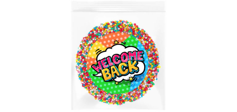 Welcome Back Personalised Giant Freckle